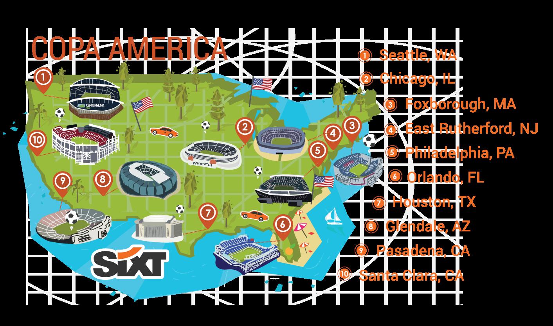 Guía Los Angeles de la Copa 2016 | Sixt